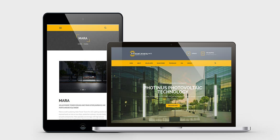 Photinus Webseite HTML5 Webdesign