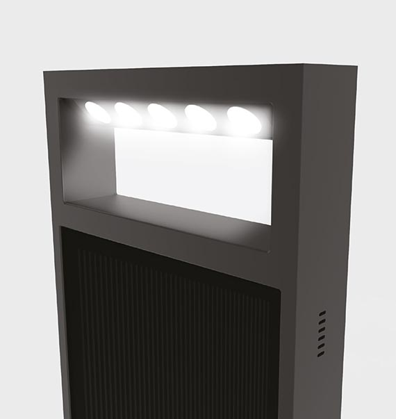 Photinus 3D Rendering Lampe